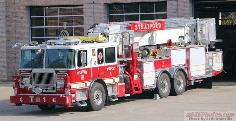 Stratford (CT) New Truck 1 - 2015 Seagrave/Aerialscope II 95